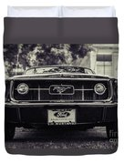 67 In The Shade Duvet Cover