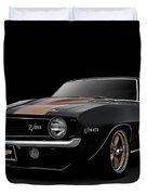 '69 Camaro Z28 Duvet Cover
