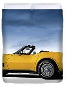 '69 Corvette Sting Ray Duvet Cover
