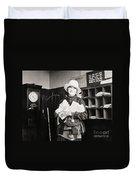 Silent Film Still: Woman Duvet Cover