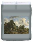 A Wooded Landscape Duvet Cover