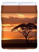 African Sunrise Duvet Cover