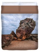 Agglestone Rock - England Duvet Cover