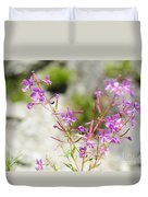 Alpine Wildflower Duvet Cover