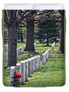 Arlington Cemetery Washington Dc Usa Duvet Cover