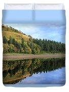 Autumn Derwent Reservoir Derbyshire Peak District Duvet Cover
