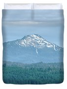 Beautiful Landscapes Around Ketchikan And Tongass Forest In Alas Duvet Cover