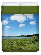 Cape Cod Salt Pond Duvet Cover
