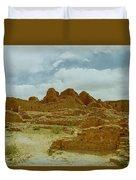 Chaco Canyon Ruins 7 Duvet Cover