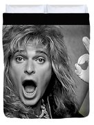 David Lee Roth Collection Duvet Cover