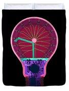 Energy Efficient Led Light, X-ray Duvet Cover