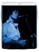 #7 Enhanced In Blue Duvet Cover