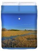7- Everglades Moon Duvet Cover