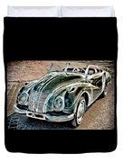 Former East Germany I F A Car Duvet Cover