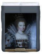 Inside Chantilly Castle France Duvet Cover
