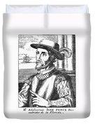 Juan Ponce De Leon Duvet Cover