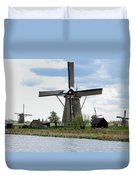 Kinderdijk Windmills Duvet Cover
