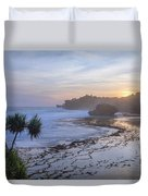 Kukup Beach - Java Duvet Cover