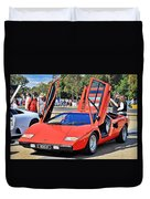 Lamborghini Countach Lp400 Duvet Cover