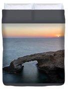 Love Bridge - Cyprus Duvet Cover