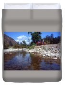 Lower Sisquoc River - San Rafael Wilderness Duvet Cover