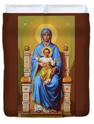 Madonna And Child Art Duvet Cover