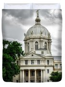 Mc Lennan County Courthouse - Waco Texas Duvet Cover