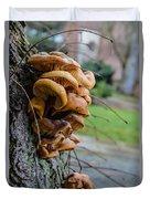 Mushroom Art Duvet Cover