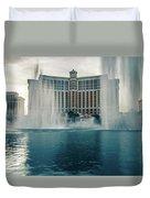 November 2017 Las Vegas Nv - Hotels And Restaurants On Las Vegas Duvet Cover