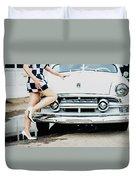 Pin Up #17 Duvet Cover