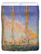 Poplars Duvet Cover