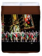 Radio City Rockettes New York City Duvet Cover