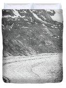 Sawyer Glacier In Tracy Arm Alaska Fjords Near Ketchikan Alaska Duvet Cover