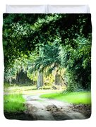 Scenes At Botany Bay Plantation Near Charleston South Carolina Duvet Cover