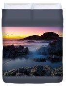 Second Valley Sunset Duvet Cover