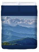 Springtime In The Blue Ridge Mountains Duvet Cover