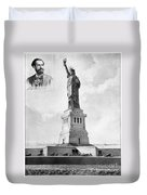 Statue Of Liberty, 1886 Duvet Cover