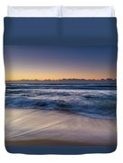 Sunrise By The Sea Duvet Cover