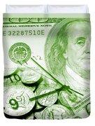 Time Is Money 16 Duvet Cover