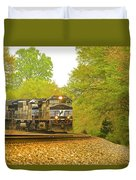 Train  Duvet Cover