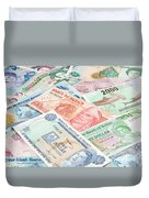 Travel Money - World Economy Duvet Cover