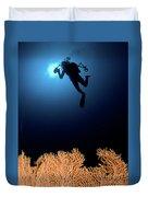 Underwater Photography Duvet Cover