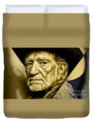 Willie Nelson Collection Duvet Cover