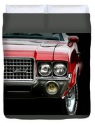 72 Olds Cutlass Duvet Cover
