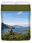76. Eilean Donan Castle, Scotland Duvet Cover