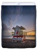 7898- Miami Beach Sunrise Duvet Cover