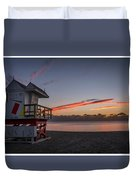 7935- Miami Beach Sunrise 14x25 Duvet Cover