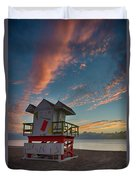 7944- Miami Beach Sunrise Duvet Cover