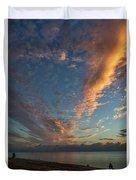7972- Miami Beach Sunrise Duvet Cover