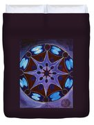 7th Mandala - Crown Chakra Duvet Cover